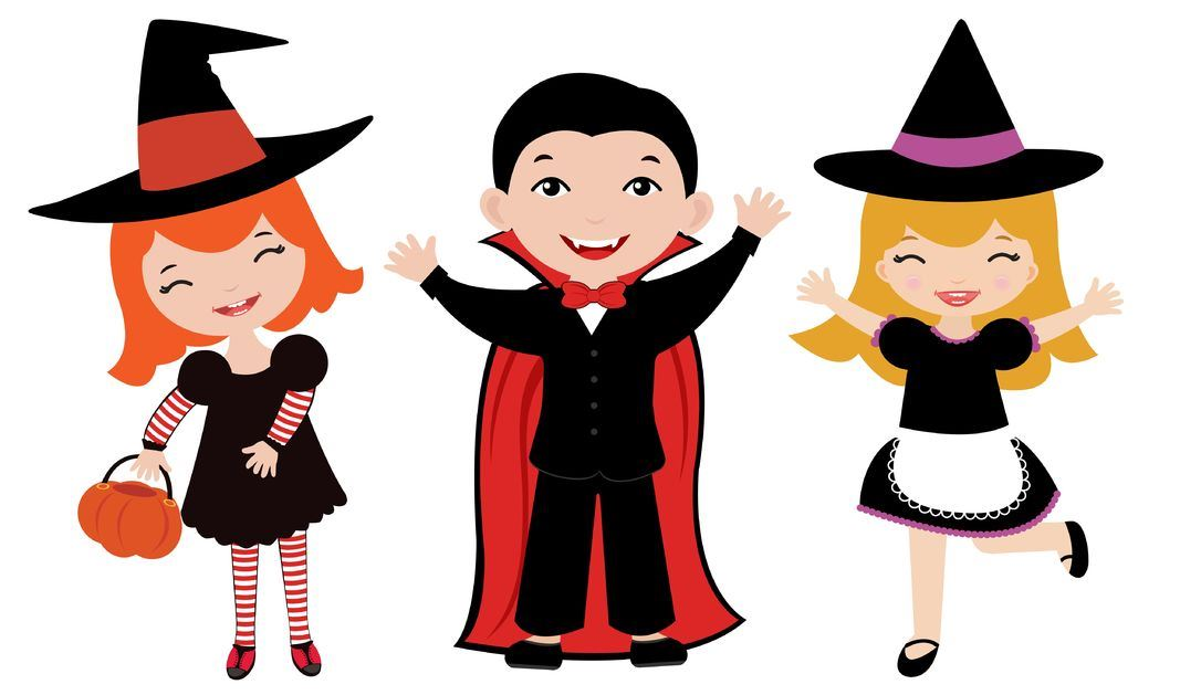 10615413 - halloween kids